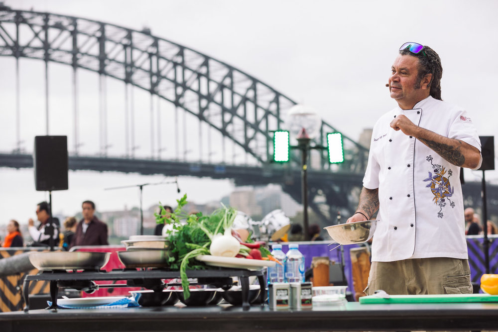 Homeground Festival 2016 - Clayton Donovan Food Demo