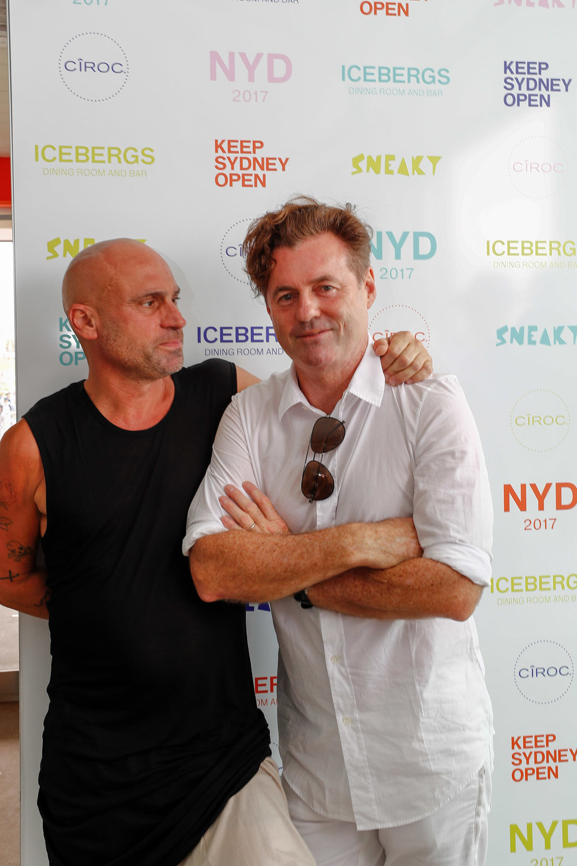 Ciroc NYD Party Icebergs Bondi Sydney Australia