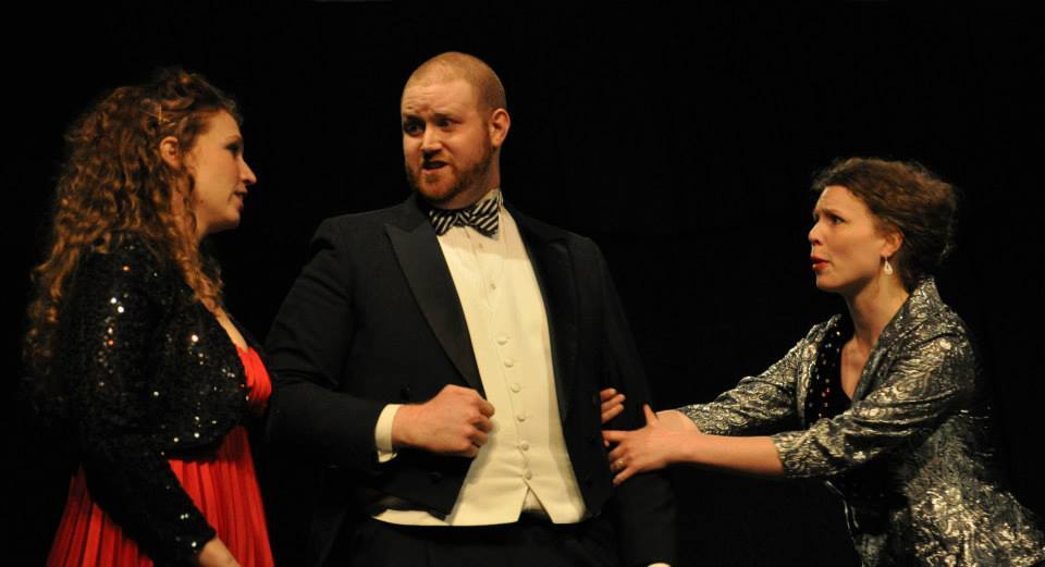 The Impresario , Mozart  Beth Deutmeyer, Sarah Thompson-Johansen, Justin Scheel  Directed by Allison McGuire