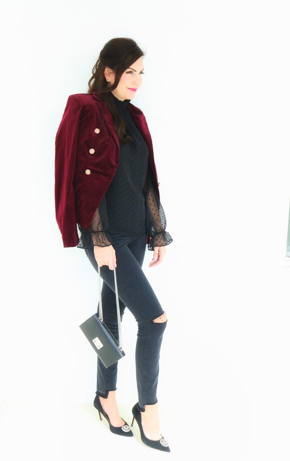 Burgundy Velvet Blazer.jpg