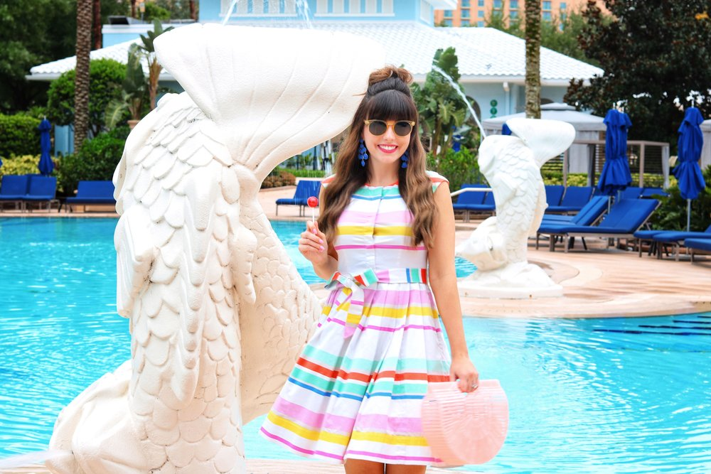colorful kate spade dress.JPG