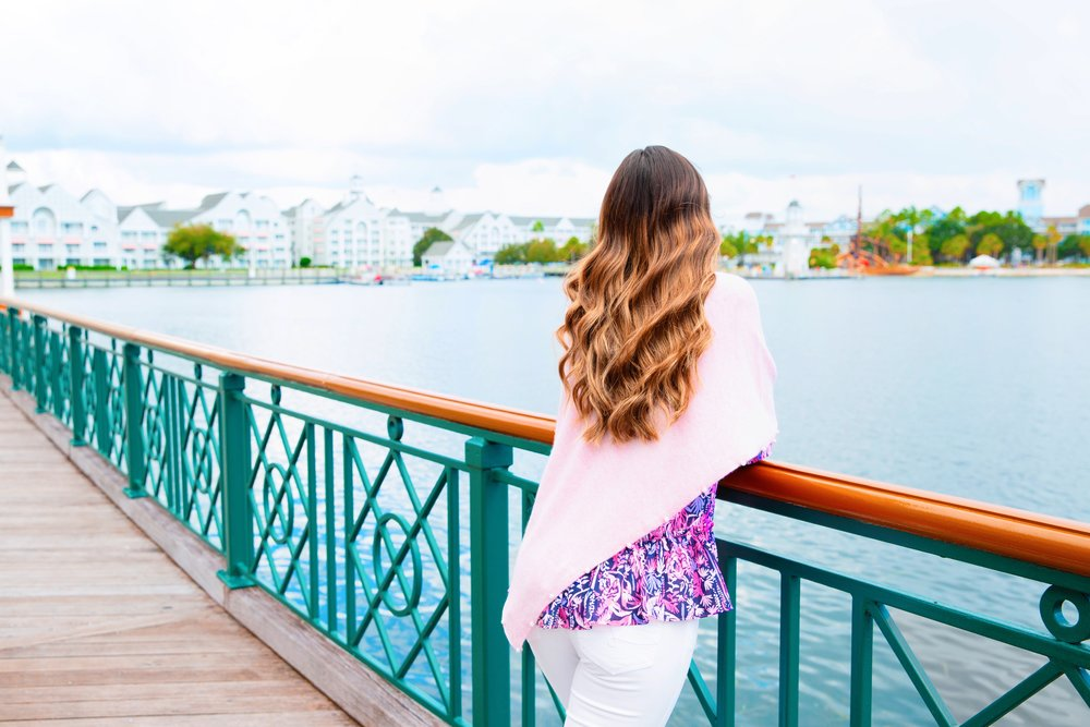 lilly pulitzer resort 2018 top and pearl sweater.JPG