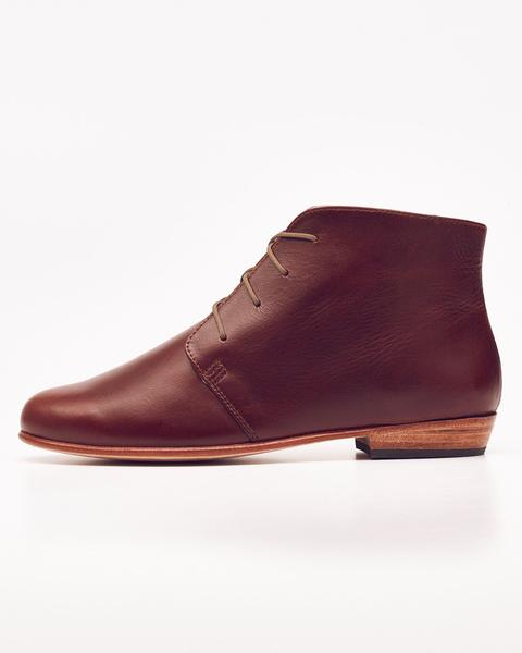 The Harper Chukka Boot in Brandy by Nisolo