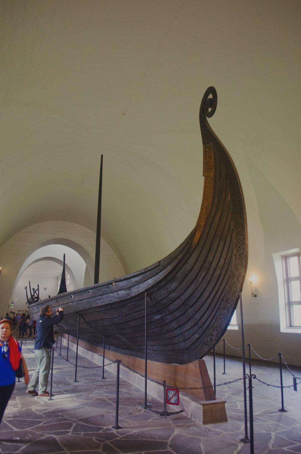 visiting the viking ship museum u2014 savannah u0026 suitcase