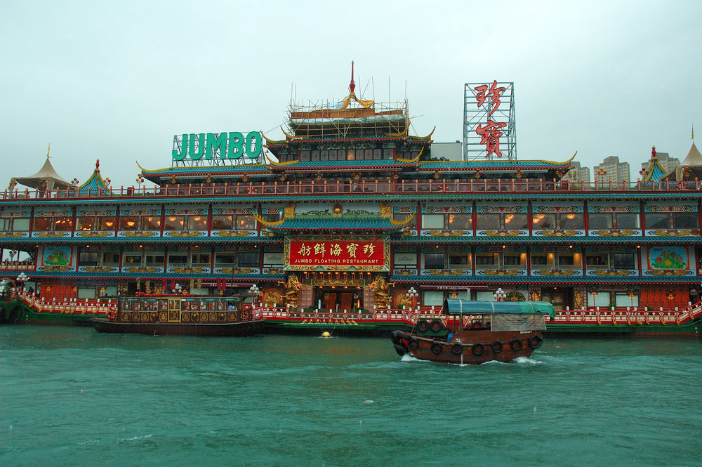 Jumbo Floating Restaurant is an experience in itself.