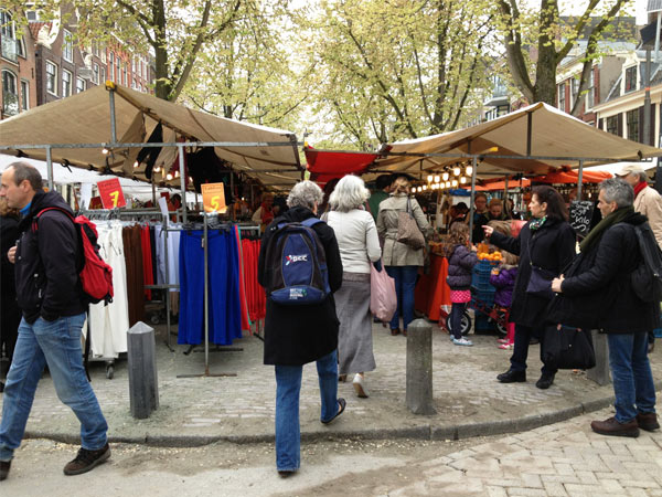 Noordermarkt Market in Amsterdam
