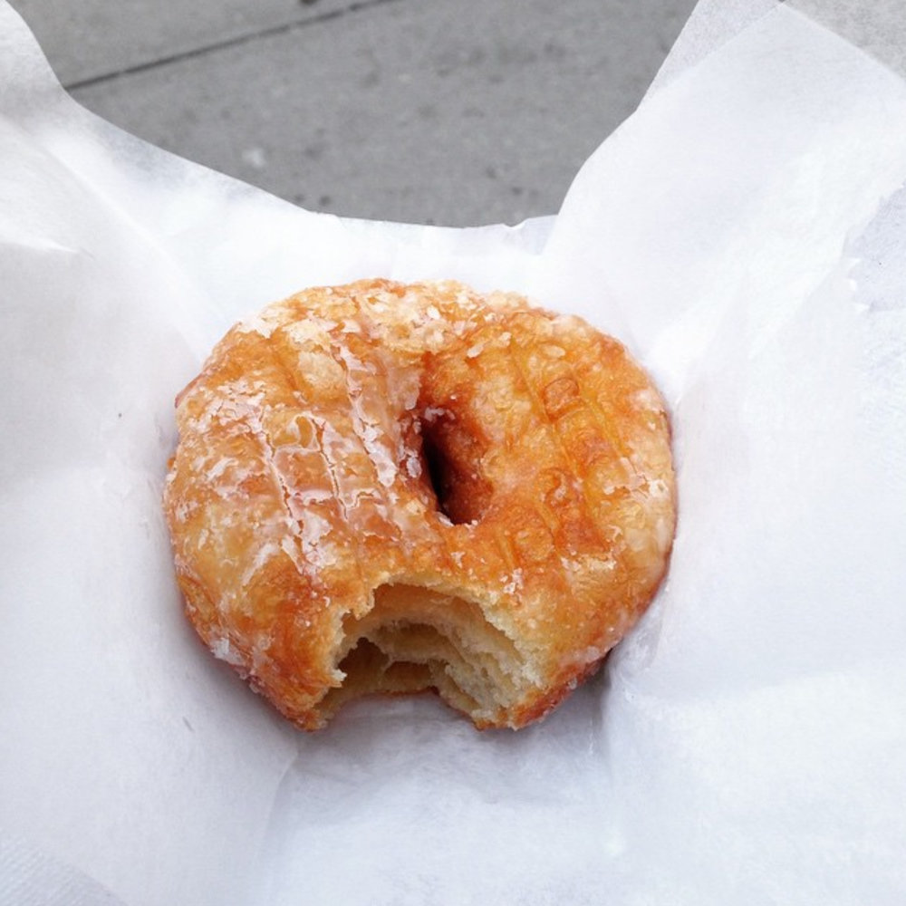 My first cronut. Haven't looked back since.