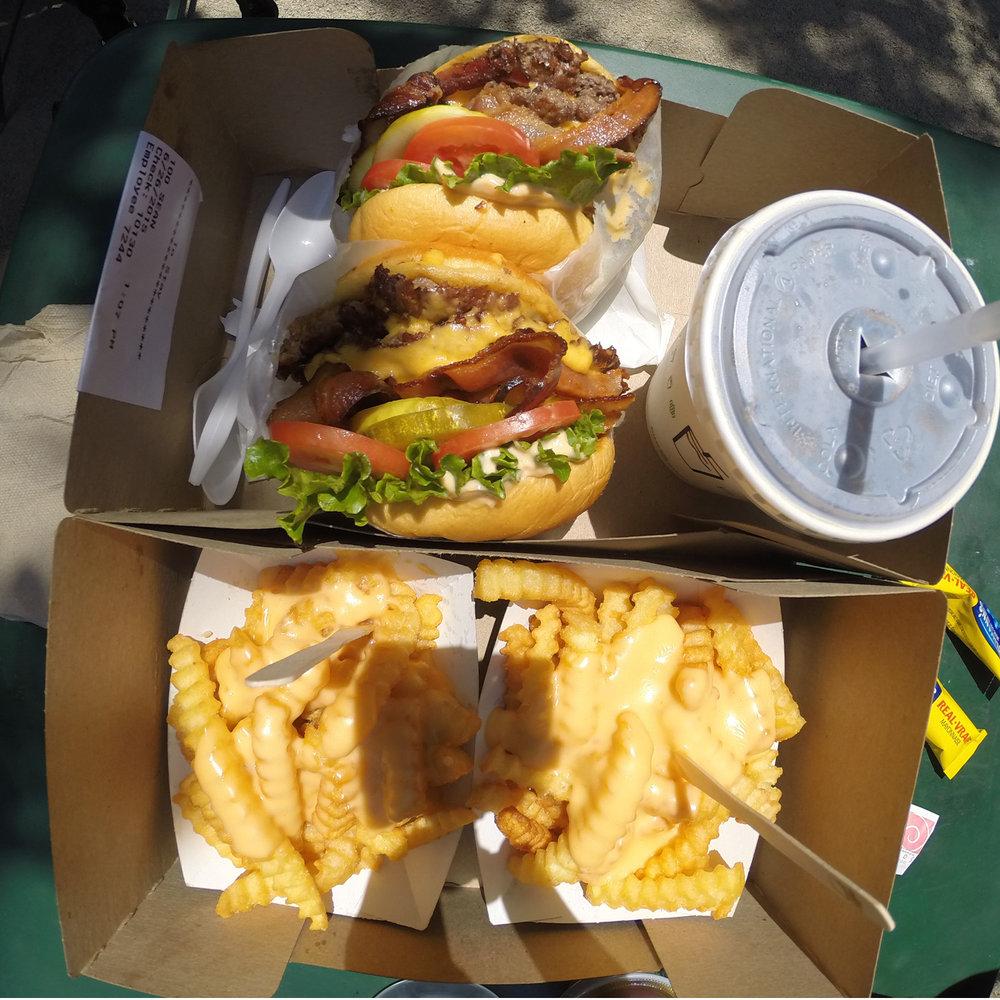Shake Shack Burgers Madison Square Park