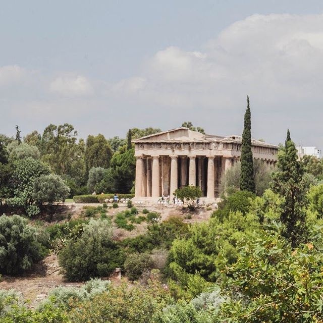 The Temple of Hephaestus 💕 Another Athenian treasure #athens #visitgreece