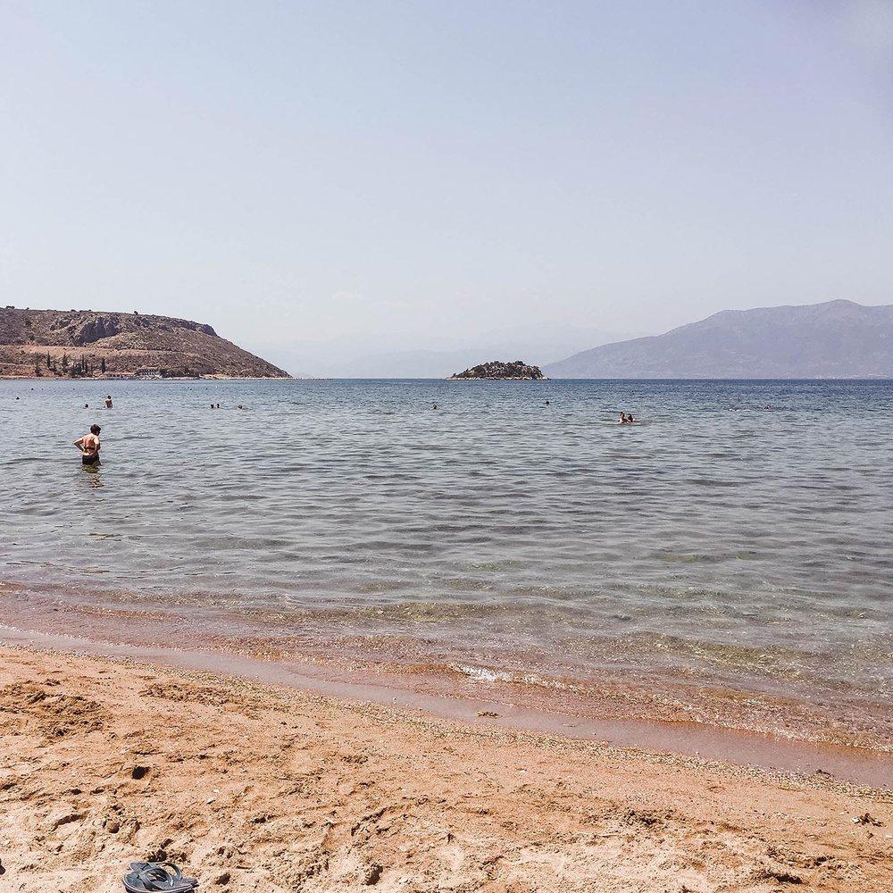 Karathona beach, Napflio, Greece