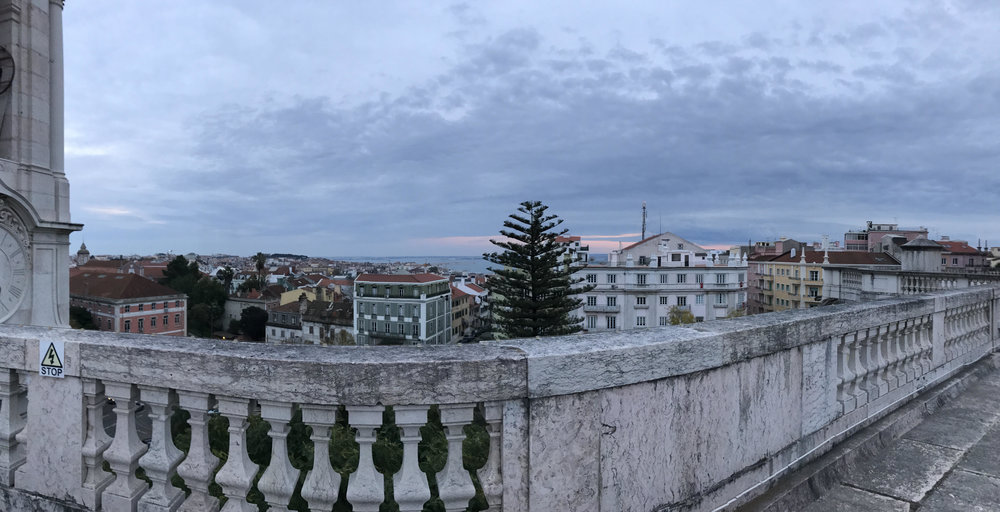 Roof of Bastilica da Estrela