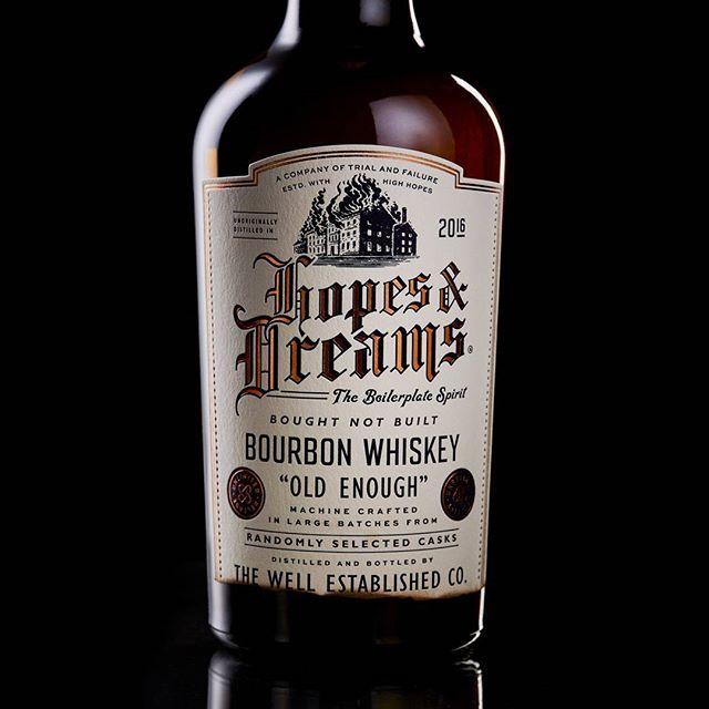 Prepare to be whelmed. #boughtnotbuilt #bourbon #whisky #whiskey