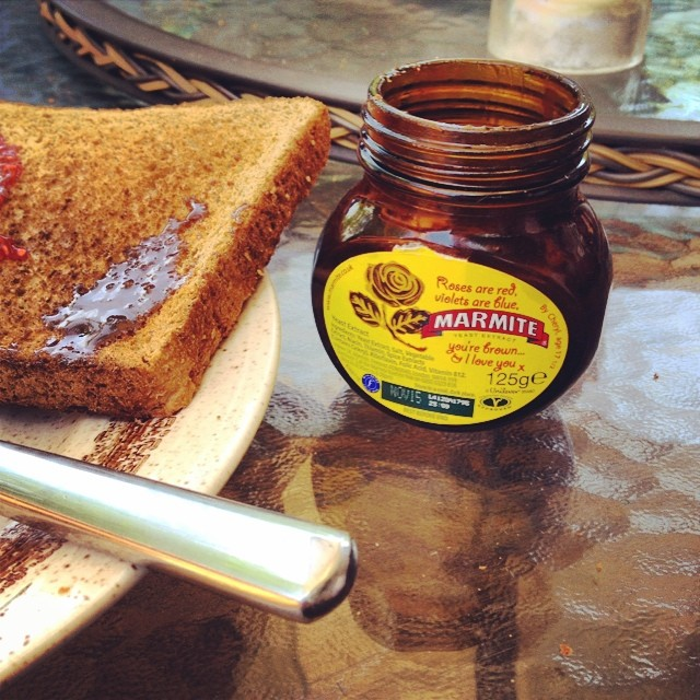 How did I miss this stuff?! #FullEnglish #Marmite http://ift.tt/1ulUERb