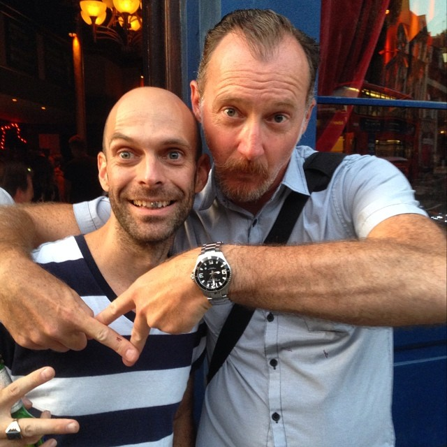 London with the one and only Nigel G. Rowe! Love ya, me ol' china…  http://ift.tt/1nemnys