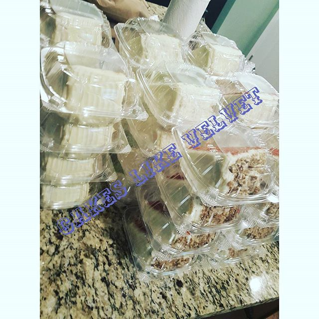 $6 for 1, 2 for $10 #CakeslikeVelvet #cakesatl #cakeslikeVelvetatl #atlanta #atl #Atlevents #sweettooth #foodporn #redvelvet