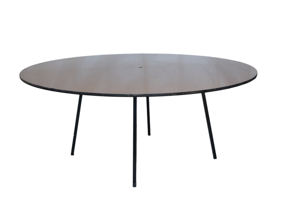 Round Timber Table for hire