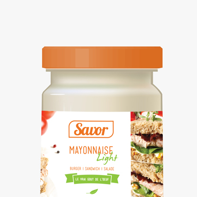 Savor Mayonnaise      Packaging