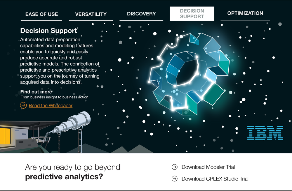IBM Landing Page