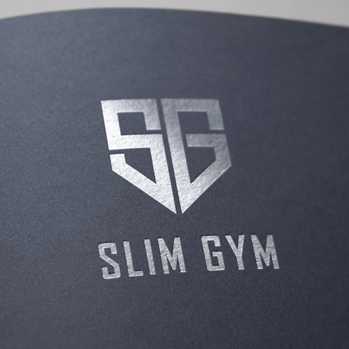 Calico Hill Creative Gym Logo Folder Design