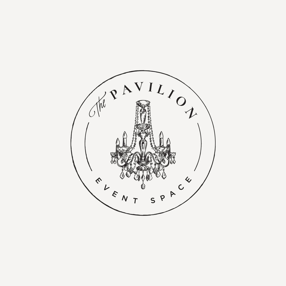 The Pavilion Event Space Logo Design