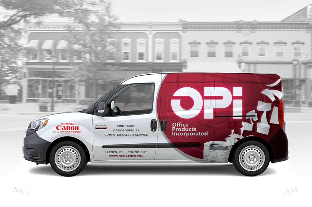 Vehicle wrap design for OPi.