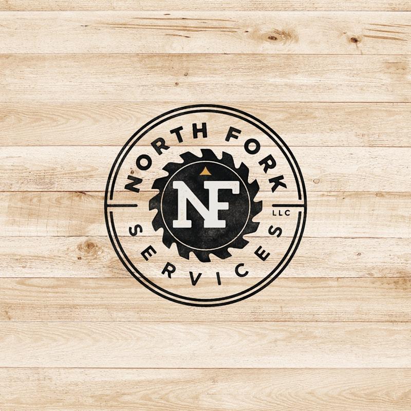 North Fork Services Logo Design