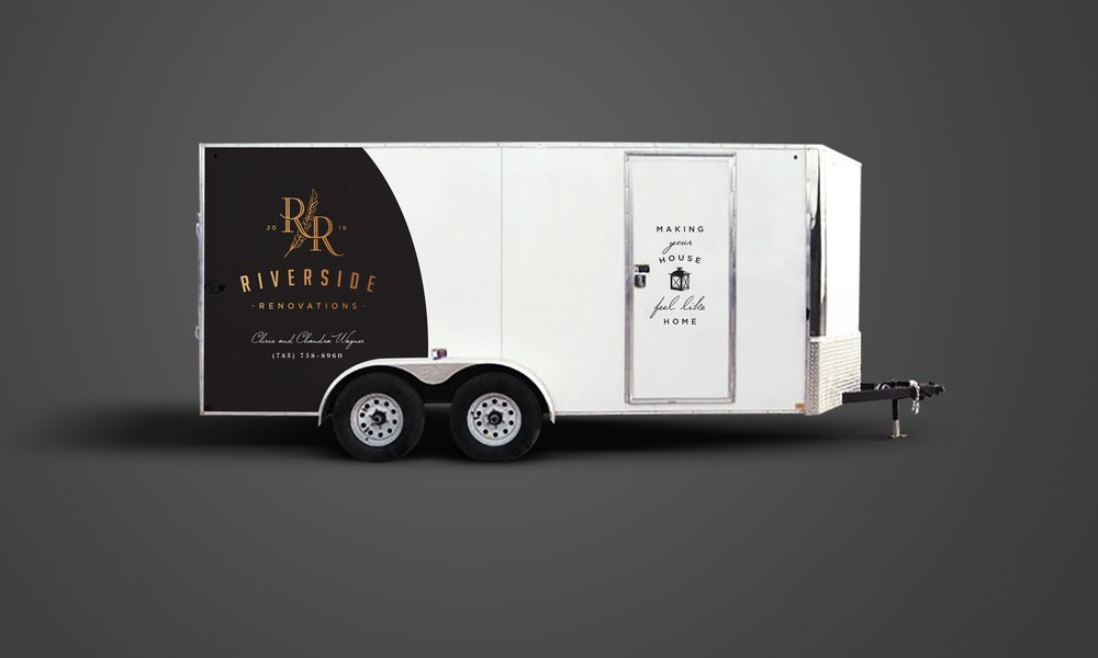 Trailer wrap design