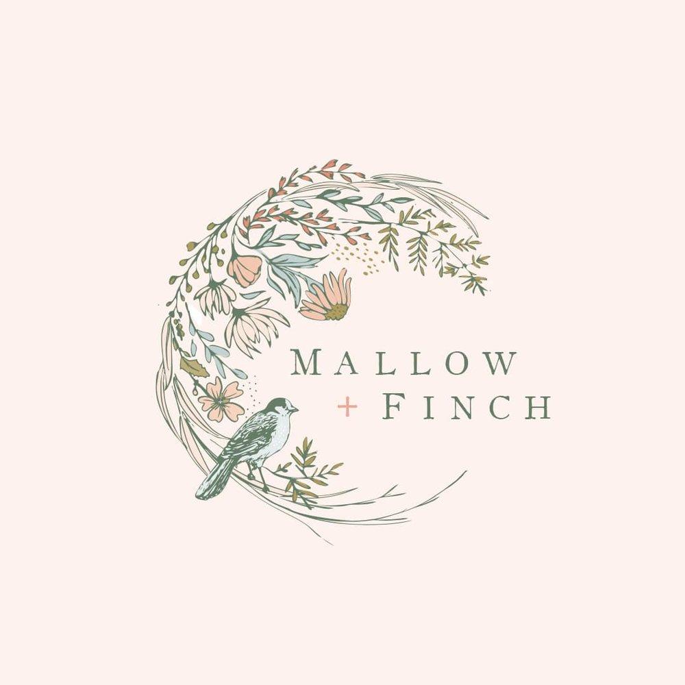 Mallow & Finch Logo + Branding