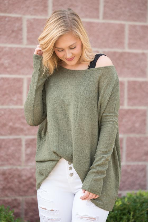 Piko Moss Sweater