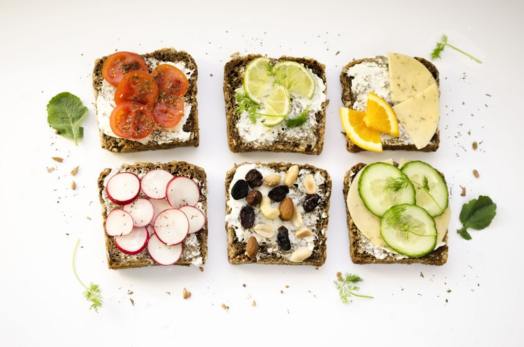 Various Pieces of Toast