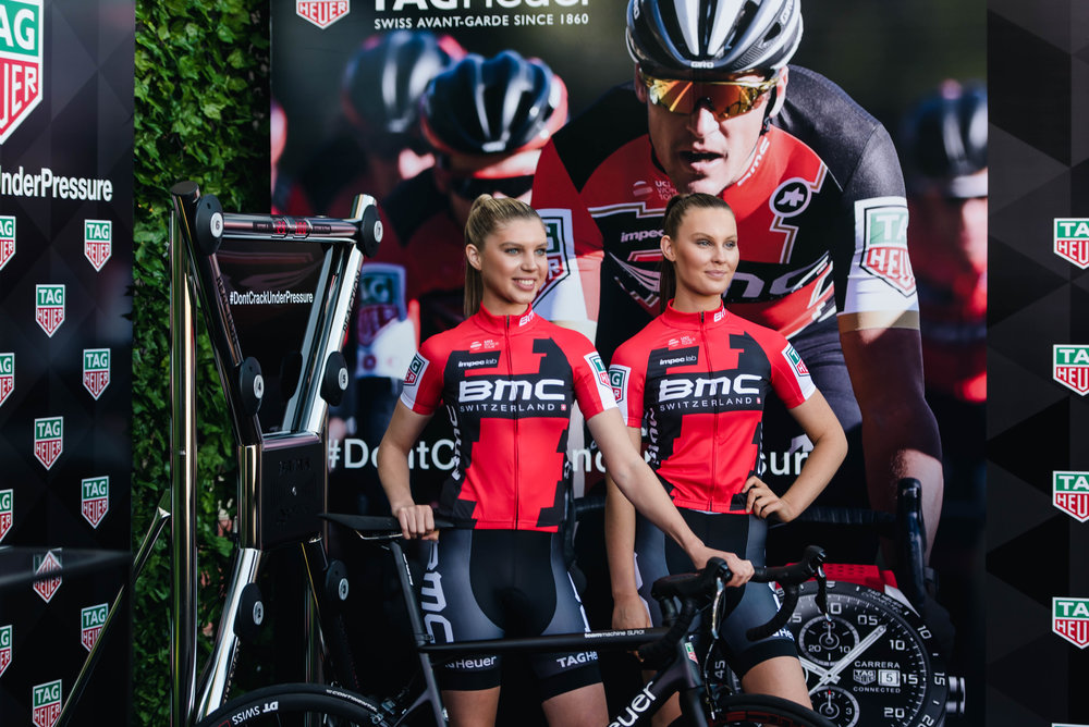 Launch of the Tag Heuer X BMC Racing partnership