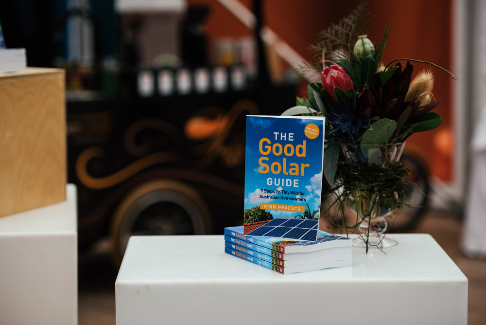 The Good Solar Guide Book Launch 2018