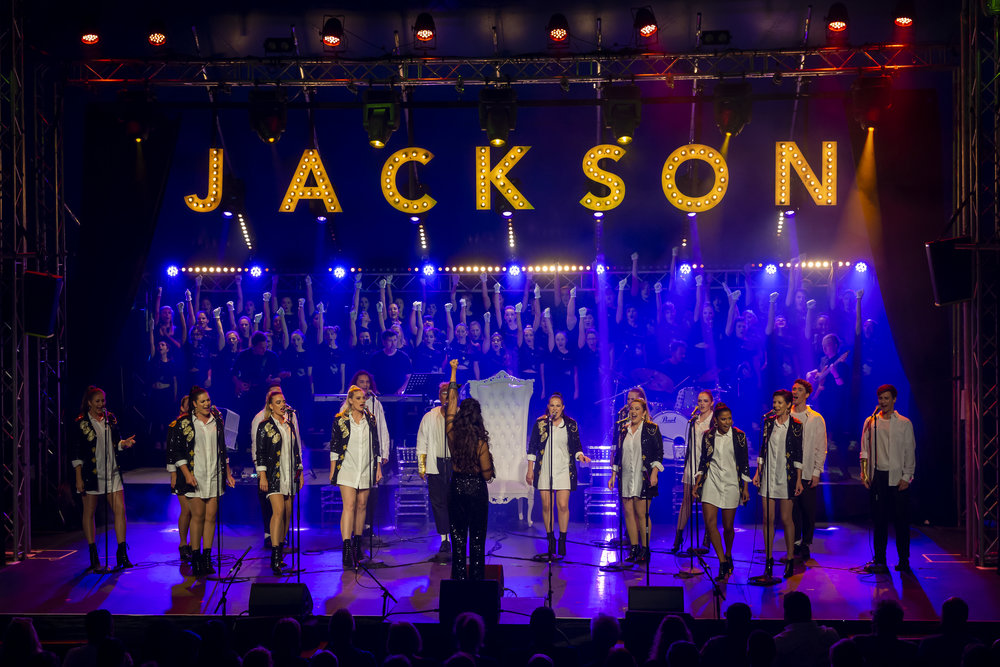 Opening night of Gospo Collective's Jackson Vs Jackson at The Flamingo in Gluttony at the 2019 Adelaide Fringe