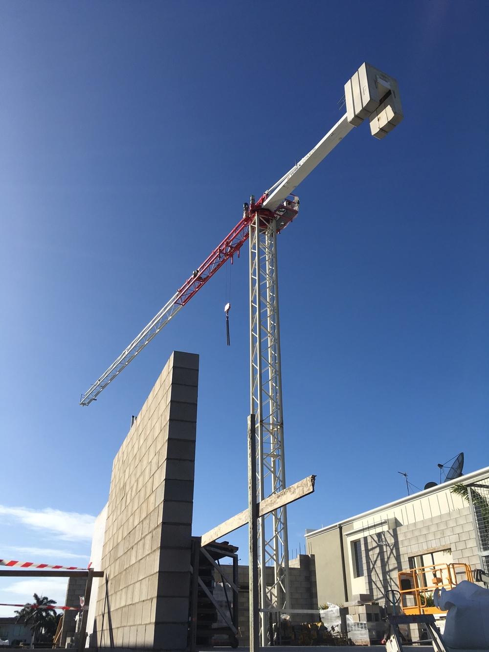 """""""Small"""" Site Crane"""