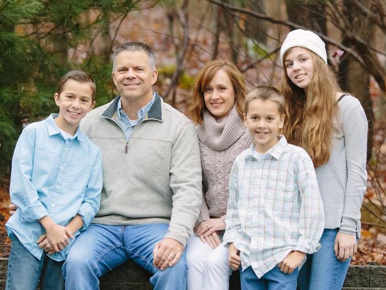 Kunkel Family in Clayton, NC