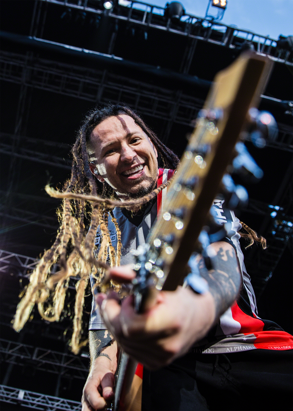 Zoltan Bathory of Five Finger Death Punch