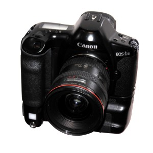 The Canon EOS-1N, released in 1994. Photo Credit: Rama, Creative Commons License.