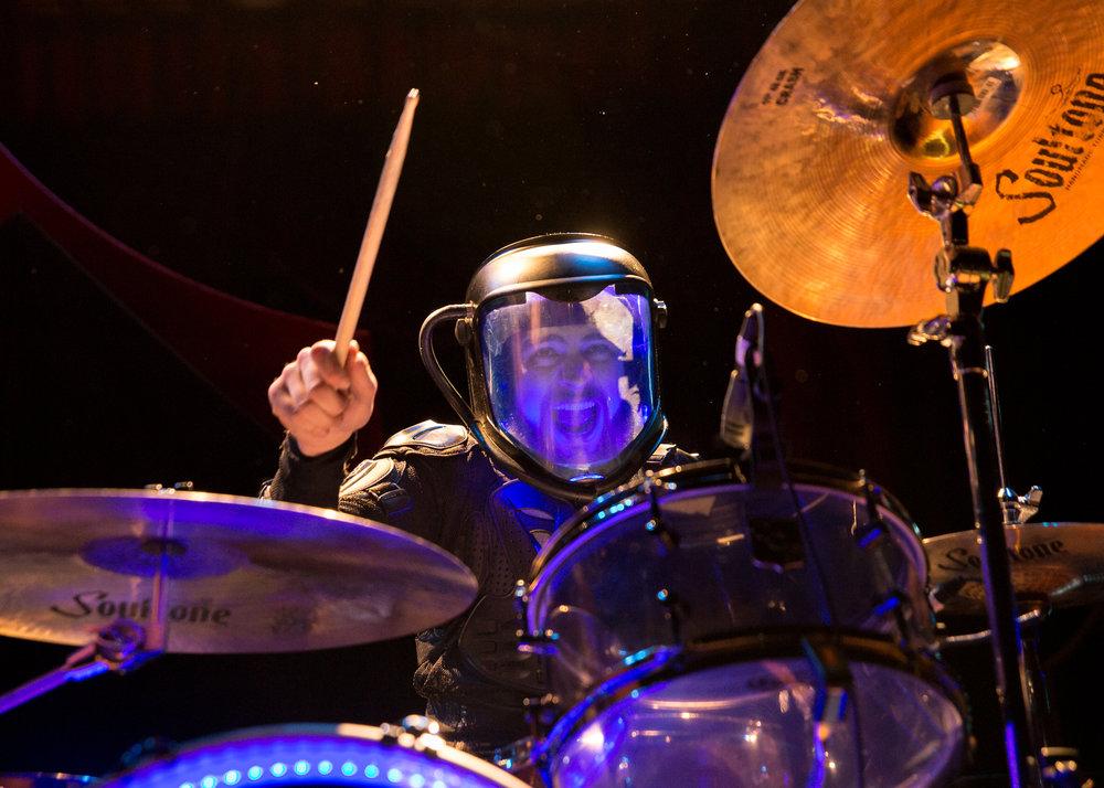 Starset drummer Adam Gilbert