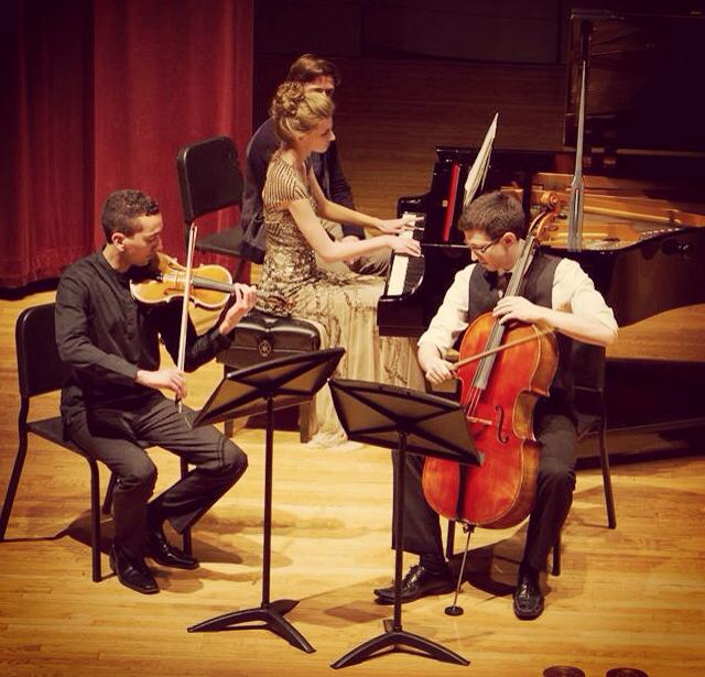 trio 204 performs Shostakovich