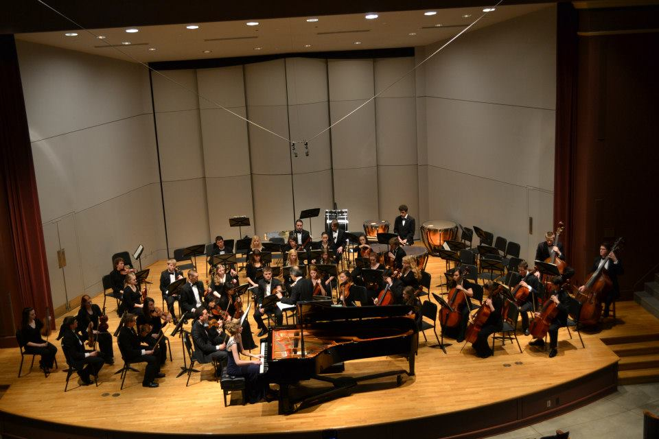 Mozart K. 466 with the Drake University Symphony Orchestra