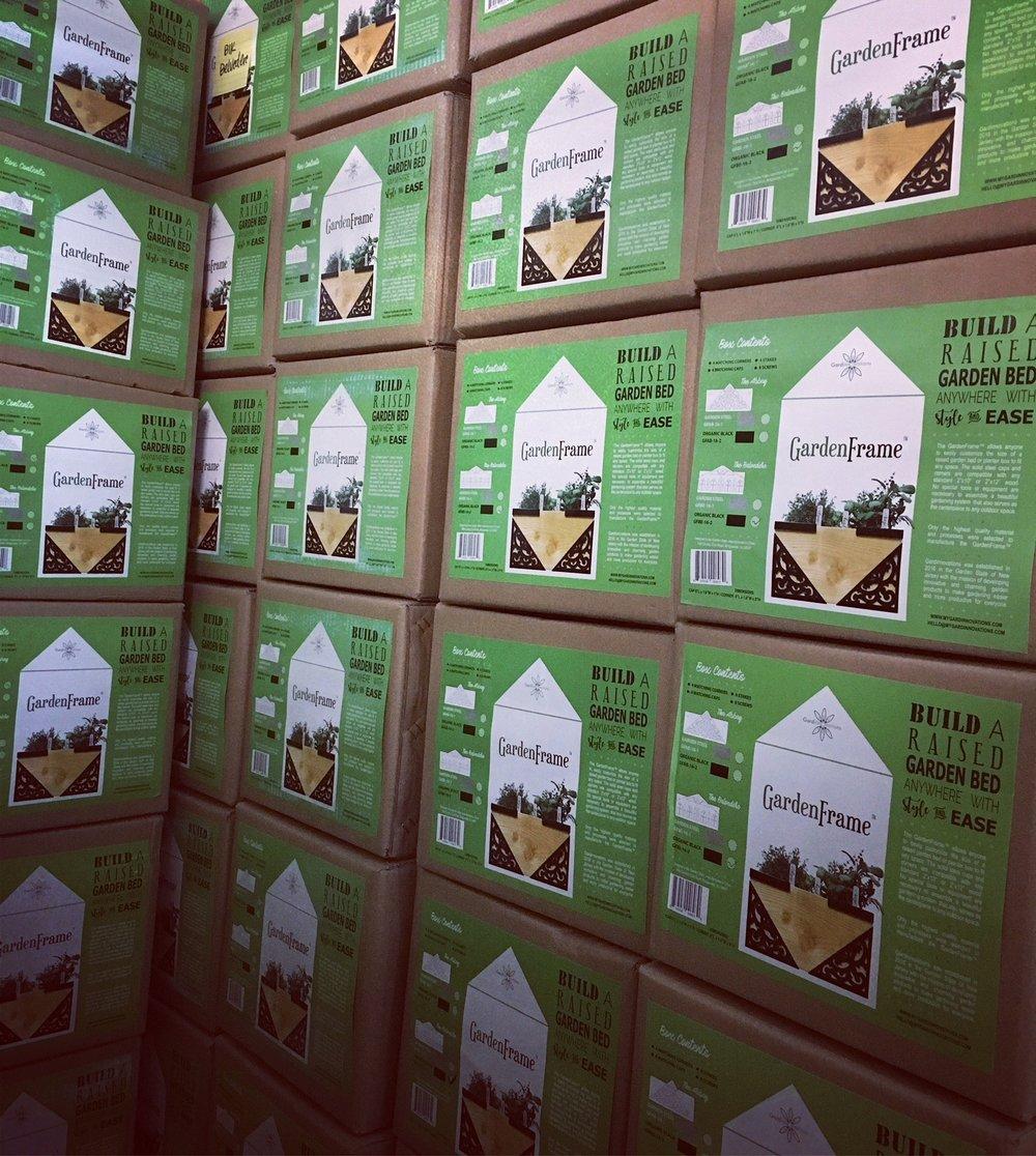 GardenFrame Shipment.JPG