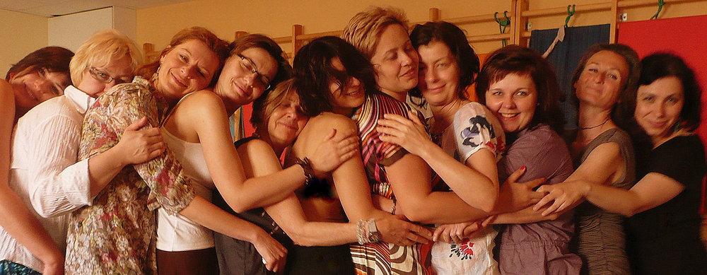2 poland women hugging.JPG