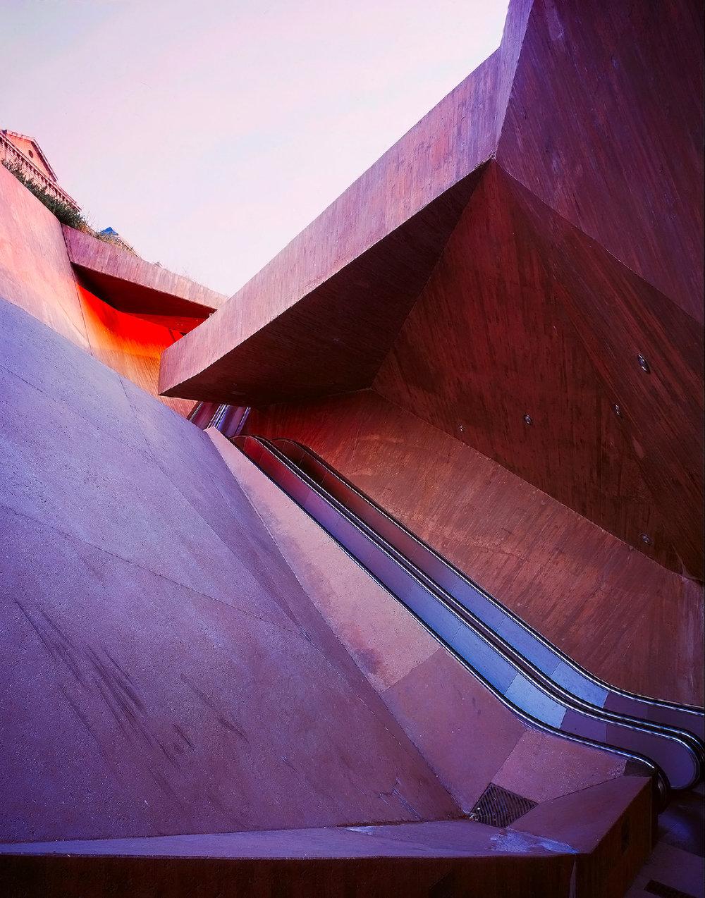 La Granja Escalator  | Lapeña & Torres | Toledo