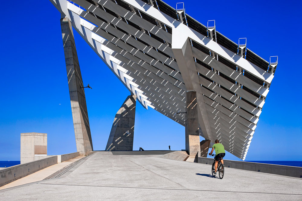 Planta Solar del Fòrum  | Lapeña & Torres | Barcelona