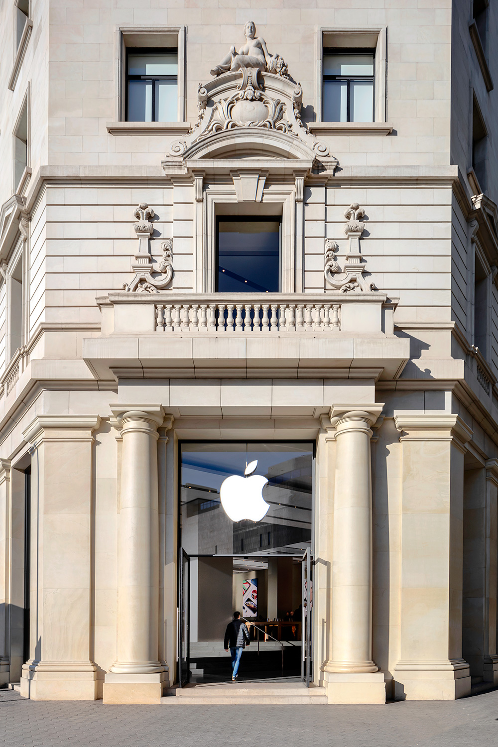 Apple Store    Group G4 Arquitectura   Barcelona