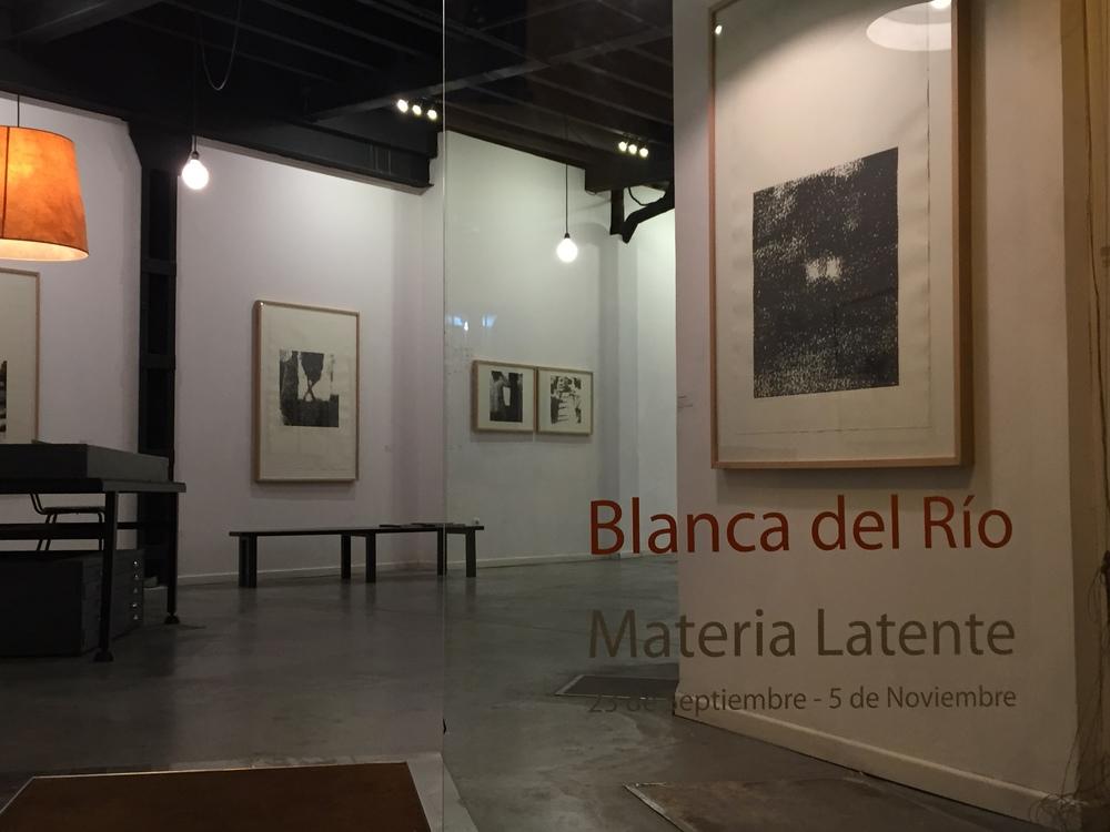 """""""Materia Latente"""". Galería Sánchez de Lamadrid. Sevilla"""