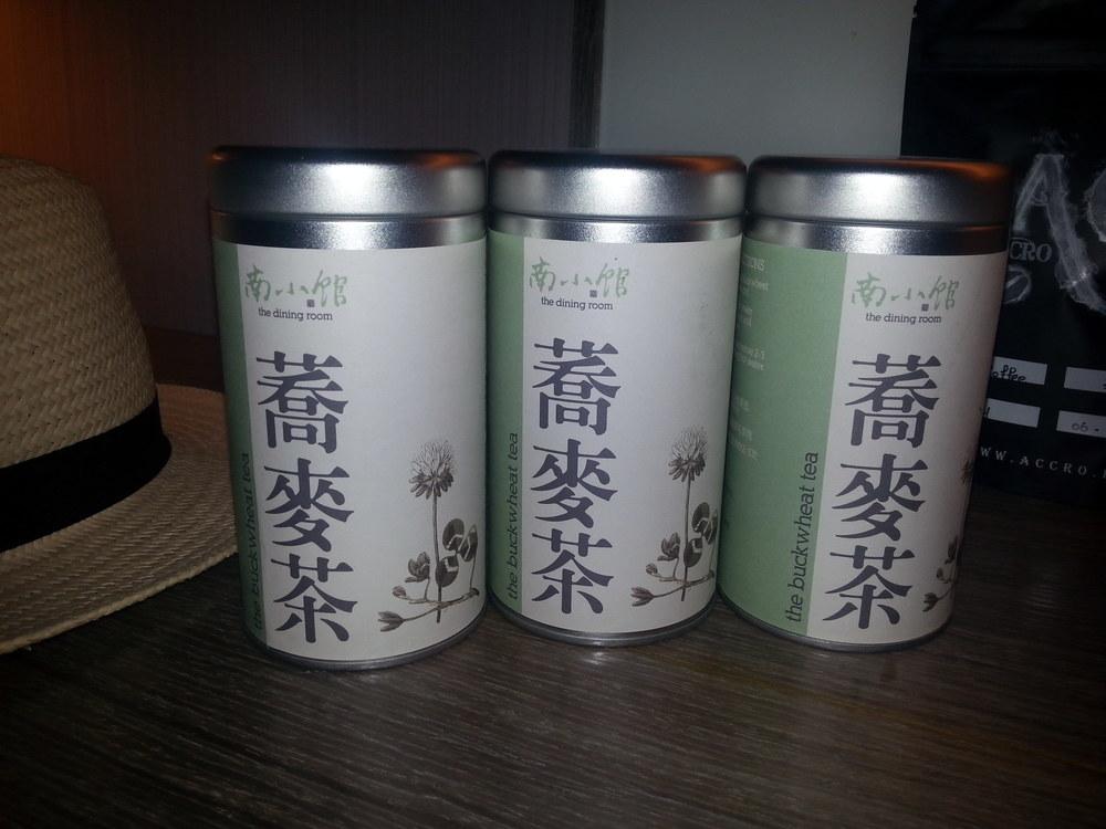 Buckwheat tea from the Dining Room