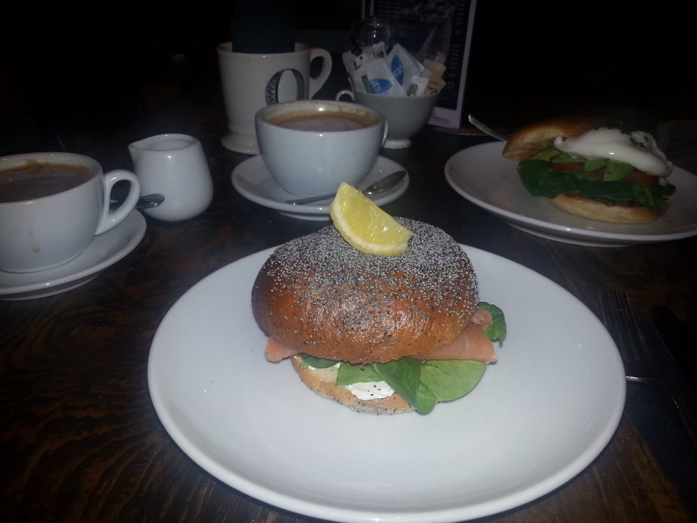 Breakfast in Stockbridge