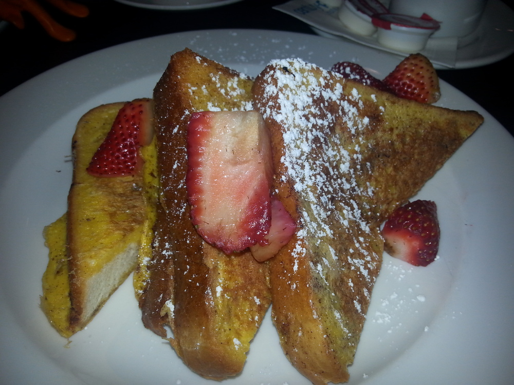 French Toast at Century Plaza