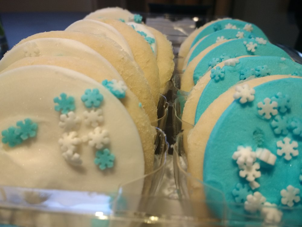 Safeways seasonal sugar cookies